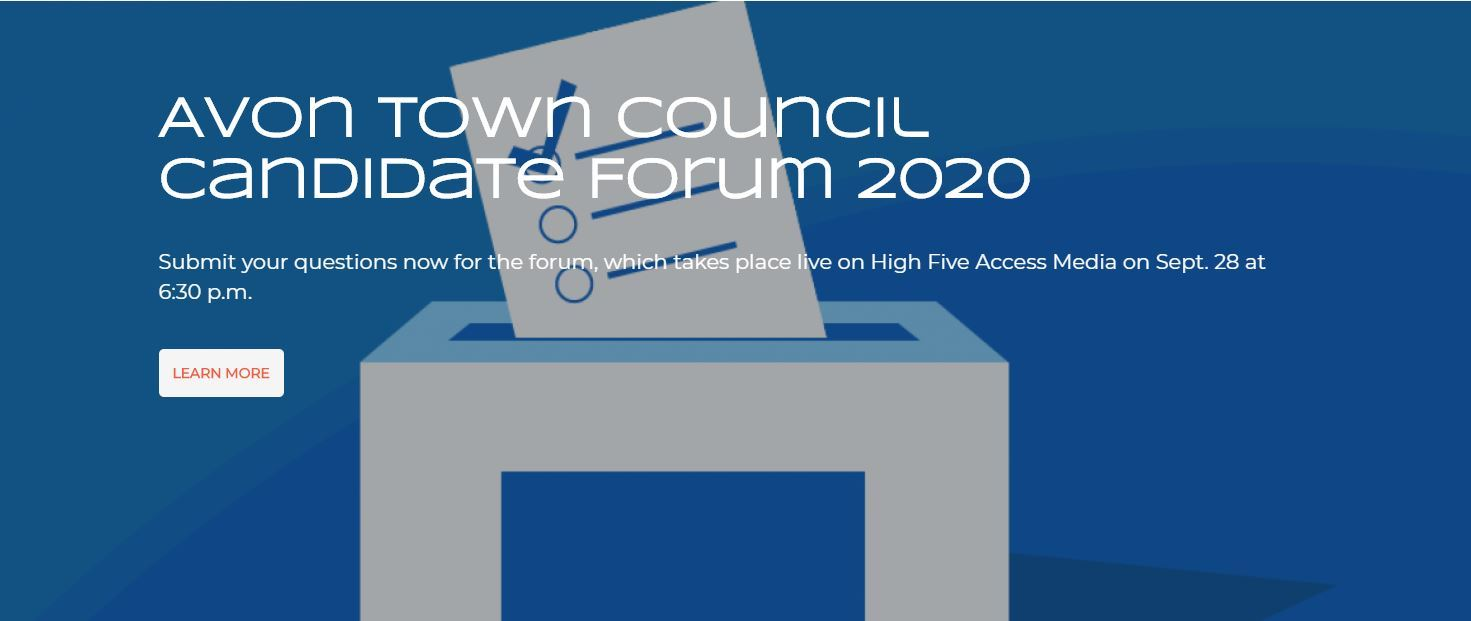 Avon Town Council Candidate Forum 2020